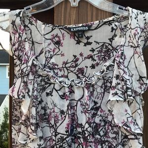 Express Cherry Blossom Blouse